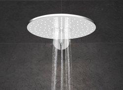 Grohe Rainshower 310 SmartActive deszczownica ścienna okrągła chrom / biała