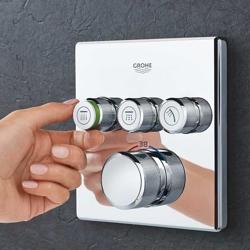 Grohe SmartControl SmartActive Cube - kompletny system natryskowy