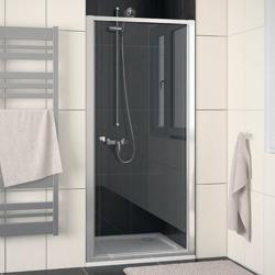 Sanswiss Eco-Line drzwi prysznicowe jednoczęściowe do wnęki