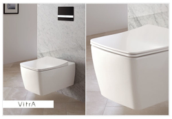 Vitra Metropole 56 RIM-EX - miska WC podwieszana bezkołnierzowa